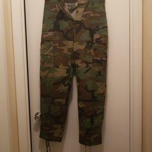 Pants - Authentic Army camo pants